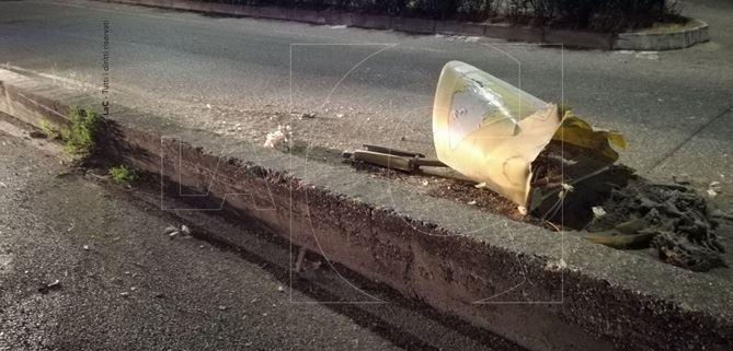 Incidente in via Gioacchino da Fiore a Catanzaro