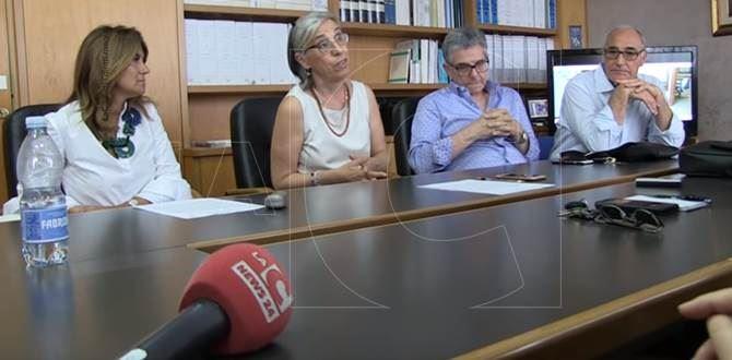 La conferenza stampa all'Asp di Vibo