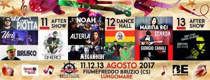Il programma della IV edizione del Fiume Rock Music Festival