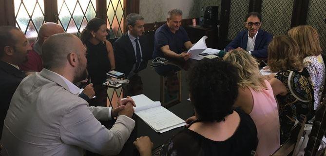 Prima riunione di giunta della consigliatura