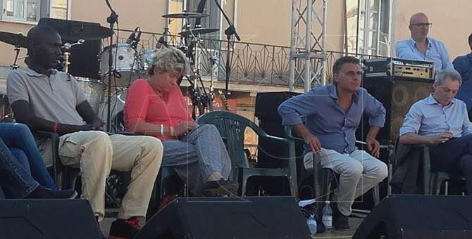 Susanna Camusso a Gioia Tauro