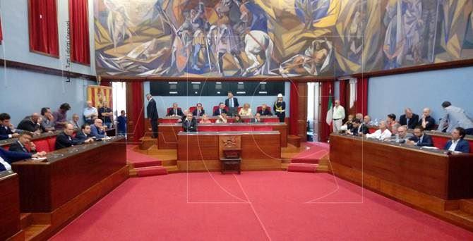 Il Consiglio comunale a Catanzaro