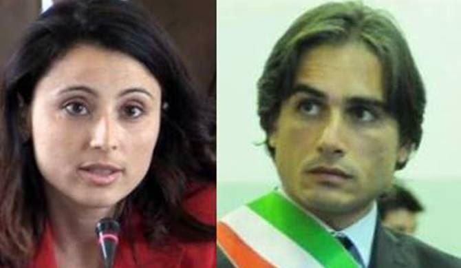 L'ex assessore Marcianò e il sindaco Falcomatà