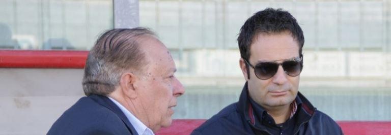 Il presidente Caffo e il direttore generale Beccaria