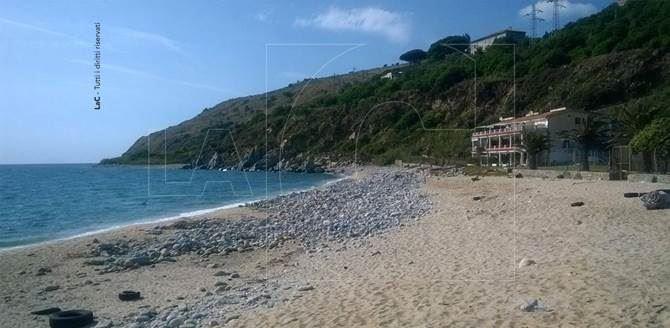 Località Preicciola a Nicotera, spiaggia in cui è stato rinvenuto il cadavere