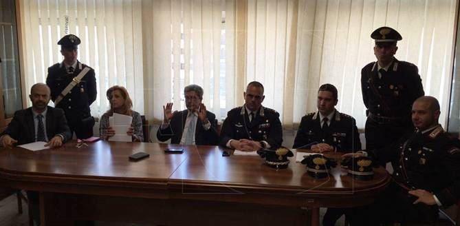 Conferenza stampa a Cosenza