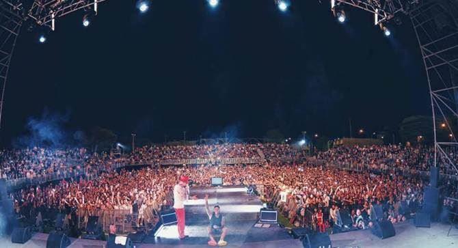 Il concerto di Fedez alla Summer Arena di Soverato