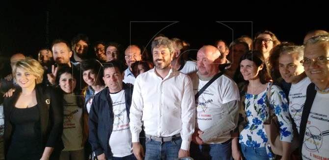 Catanzaro, il parlamentare Roberto Fico