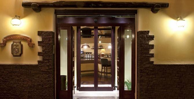 L'ingresso del ristorante Lapprodo