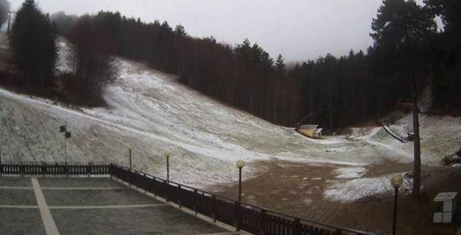 Prima neve a Camigliatello