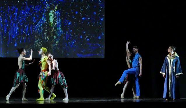 La compagnia Astra Roma Ballet in