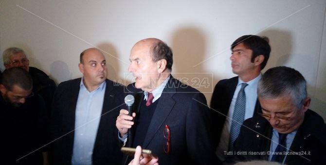 Aldo Rosa, Nico Stumpo, Pierluigi Bersani e Arturo Bova