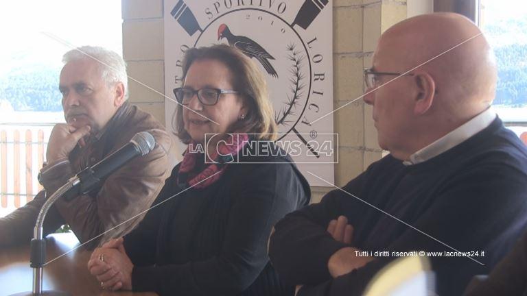 Conferenza stampa a Lorica