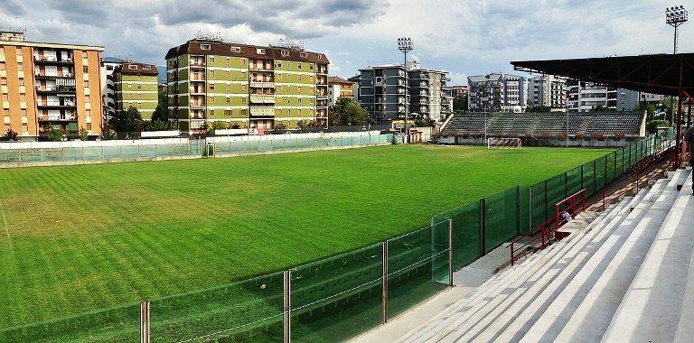 Lo stadio Lorenzon di Rende