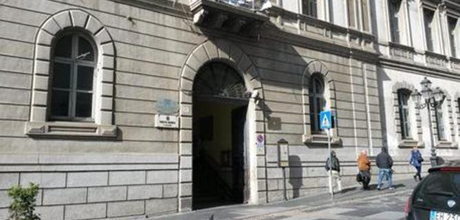 Il convitto Galluppi su corso Mazzini a Catanzaro