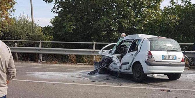 L'incidente sulla statale 106