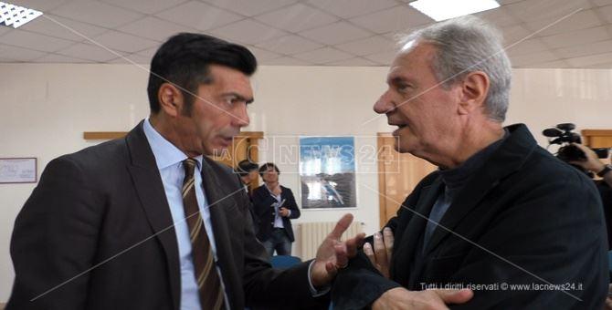 Arturo Bova e Don Giacomo Panizza