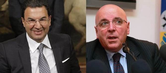 Antonio Gentile e Mario Oliverio
