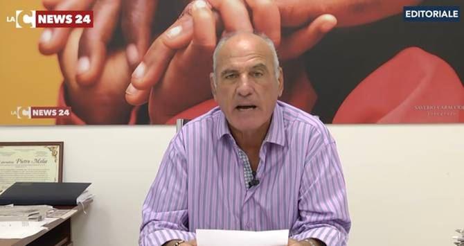 Il direttore responsabile LaC Tv Pietro Melia