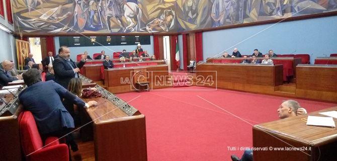 Consiglio comunale a Catanzaro