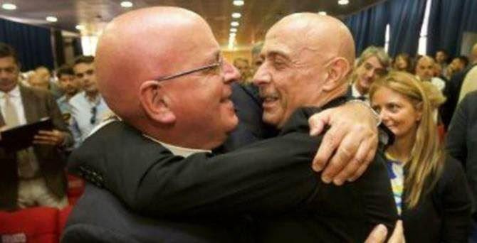 Il presidente Oliverio e il ministro Minniti