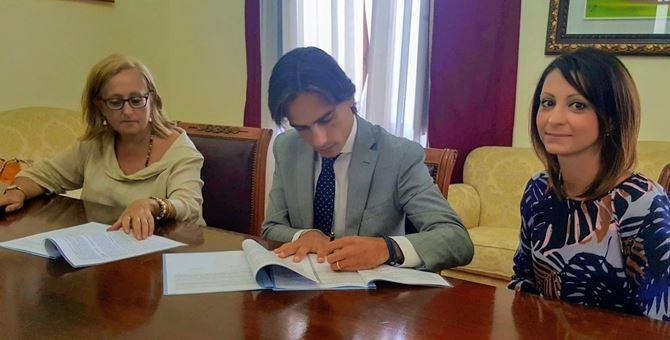 Reggio, firma accordo