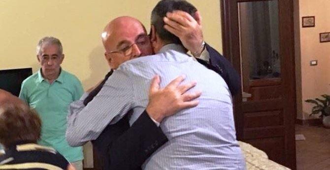 Incontro Oliverio e sindaco Scionti