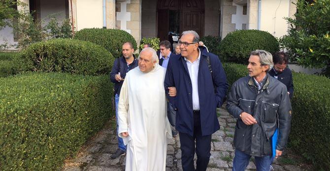 Don Basilio Trivellato e Antonio Viscomi