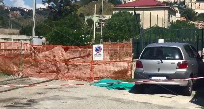L'auto nella quale il 33enne è stato trovato privo di vita