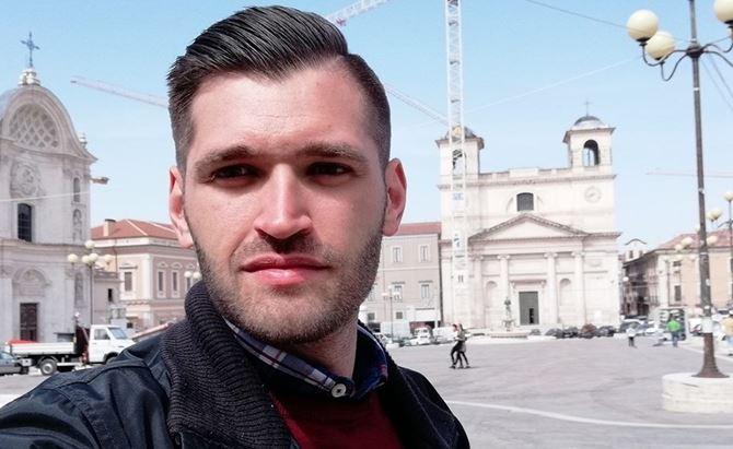 Pietro Serra, il giovane che ha sporto denuncia contro i due sacerdoti