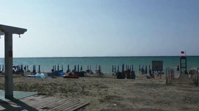 La spiaggia dove si sarebbe consumata la violenza