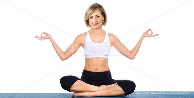 Dalila Nesci... e lo yoga