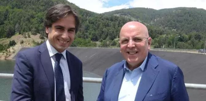 Giuseppe Falcomatà e Mario Oliverio