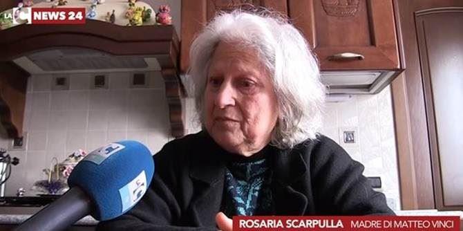 Sara Scarpulla, madre di Matteo Vinci