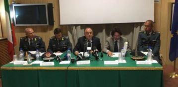 La conferenza stampa di Procura e Guardia di finanza nel 2016