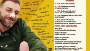 La locandina dell'evento che si terrà a il 22 aprile a partire dalle ore 16.30 in piazza Satriani a Vibo Marina