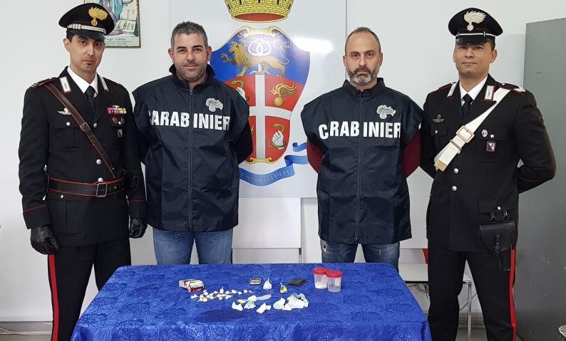 Cocaina, eroina e hashish: due uomini denunciati per spaccio