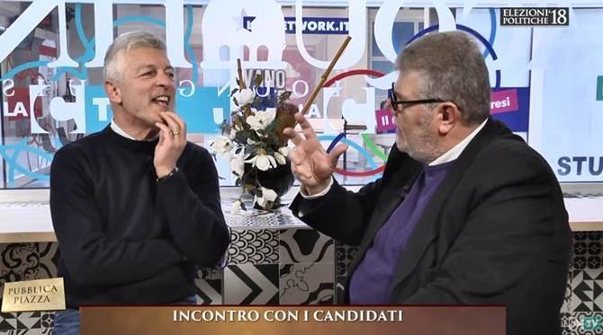 Nicola Morra e Pasquale Motta
