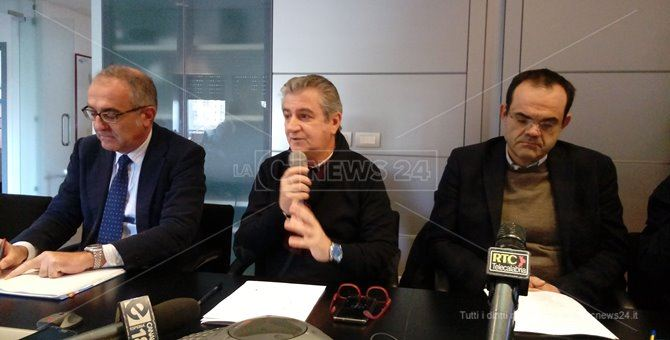 Sergio De Marco, Luigi Incarnato e Roberto Musmanno