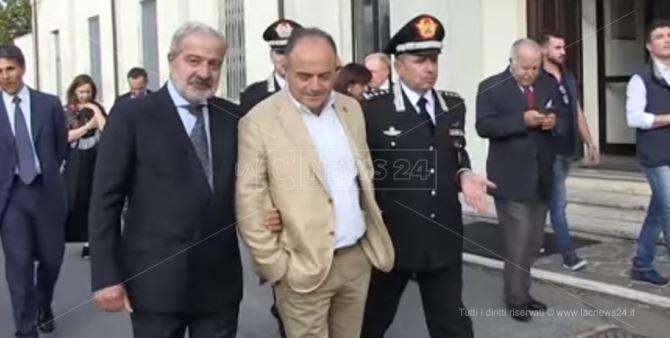 Guido Longo e Nicola Gratteri