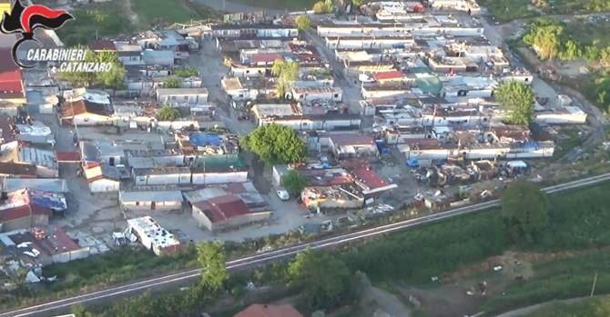 Il campo rom di Scordovillo