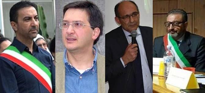 Walter Scerbo, Gennaro Marsiglia, Francesco Scalfaro e Vincenzo Rocchetti