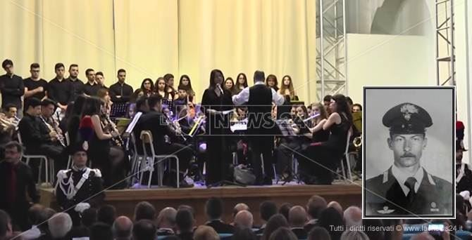 Il concerto in ricordo del carabiniere Civinini