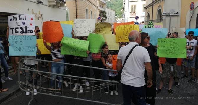 La manifestazione a Lamezia