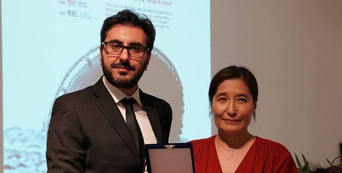 Alessandro Grande premiato al festival del cinema italiano a Seoul
