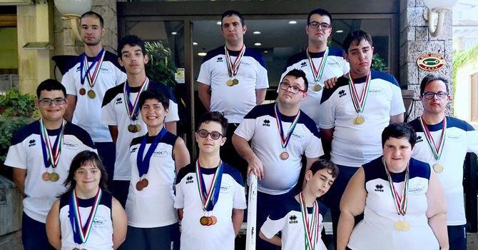 Gli atleti premiati