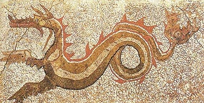 Il mosaico del drago