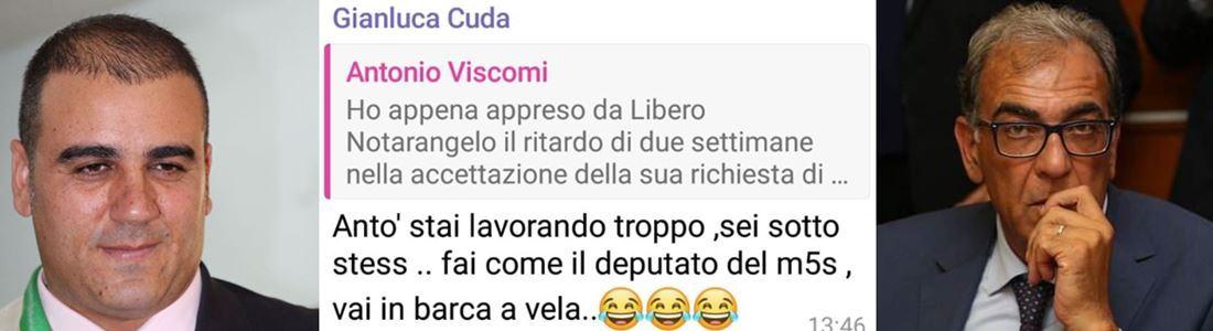 Gianluca Cuda e Antonio Viscomi