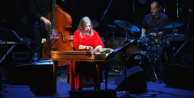 La cantante finlandese folk Sinikka Langeland