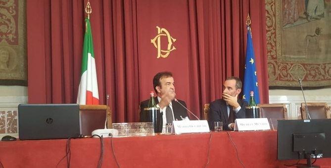 Il sindaco Mario Occhiuto al convegno sul consumo del suolo in Italia